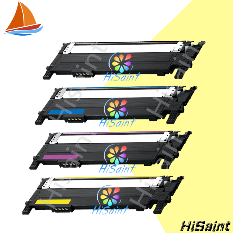 ФОТО Hisaint compatible for Samsung CLT-K406S C406S M406S Y406S 406S 406 Toner Cartridges CLP-365W CLX-3305FW Xpress C410W C460FW