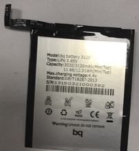 For BQ Aquaris M5 Battery 3120mAh Phone Bateria цена