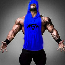 New fashion cotton sleeveless shirts tank top men Fitness shirt mens singlet Bodybuilding workout gym vest fitness