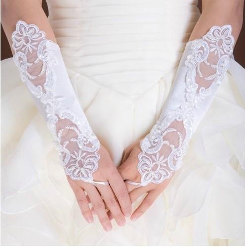 Noiva rendas luvas lucy refere-se às luvas de noiva casamento luvas formais vestido vermelho st-013