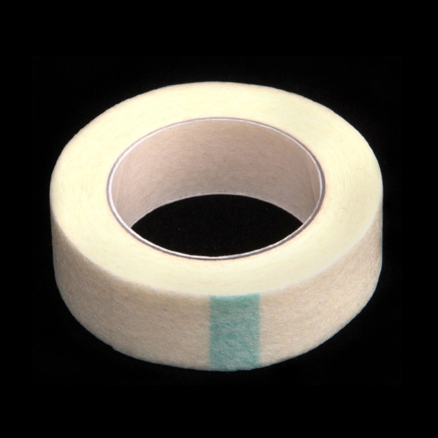 5pcs Eyelash Extension Lint Breathable Non-woven Cloth Adhesive Tape Medical Paper Tape For False Lashes Patch Makeup Tools 5