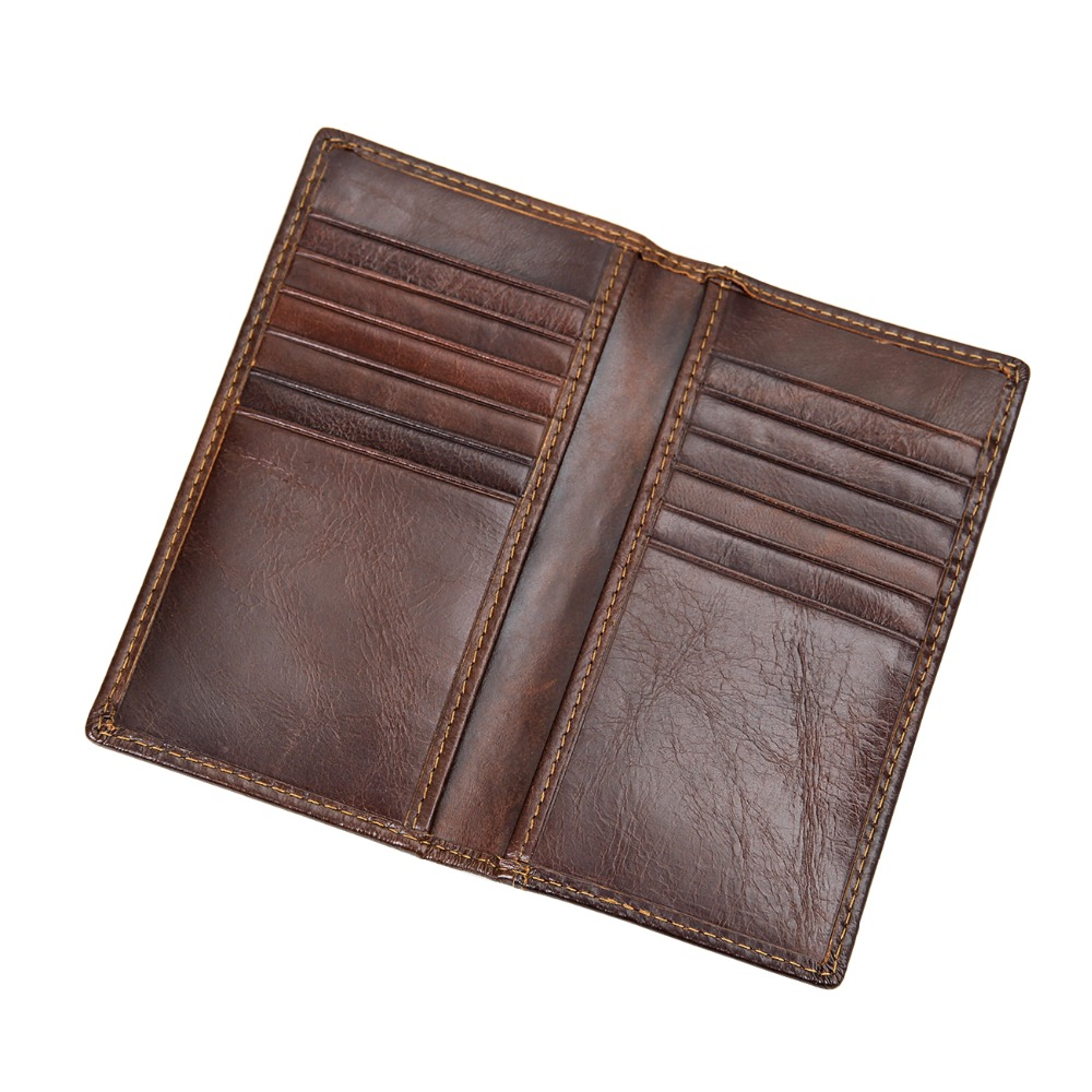 J M D RFID Blocking Leather Wallet Men s Genuine Leather Short Dollars Wallets Quality Guarantee