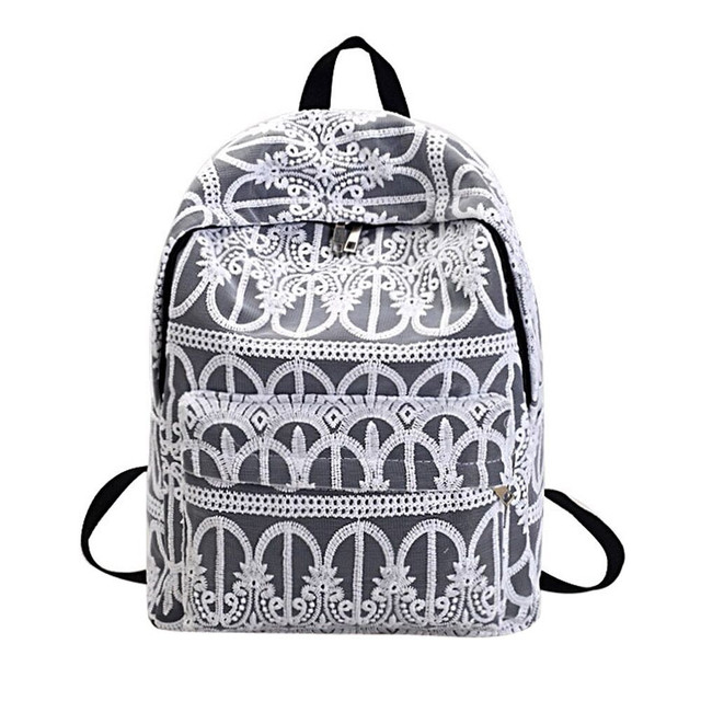 1057ea0a6e New Design Backpack Women Lace Shoulder Bag Girls Student Bag Personalized Backpack  Fashion Casual Rucksack Mochila Feminina