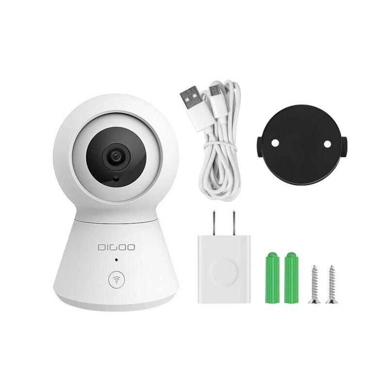 DIGOO DG-K2 1080P Smart Home Security IP Camera Cloud Storage Compatible  with Smart Life Tuya APP Alexa Smart Voice Control