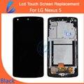 LL TRADER Черный Высокое Качество ЖК-Дисплей в Сборе для LG Google Nexus 5 D821 D820 с Рамкой + Инструменты Для Ремонта Бесплатная Доставка