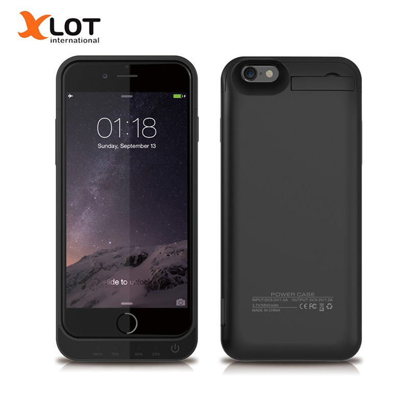 4200 mAh External Backup Battery Charger Case Power Bank Pack W/ Stand Powerbank Charging Case for iPhone 5 5s 5C SE