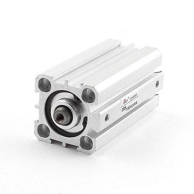 SDA25x60 25mm Stroke 60mm Bore Aluminium Pneumatic Compact Air Cylinder kcq2b 20 x 32mm aluminium pneumatic compact air cylinder