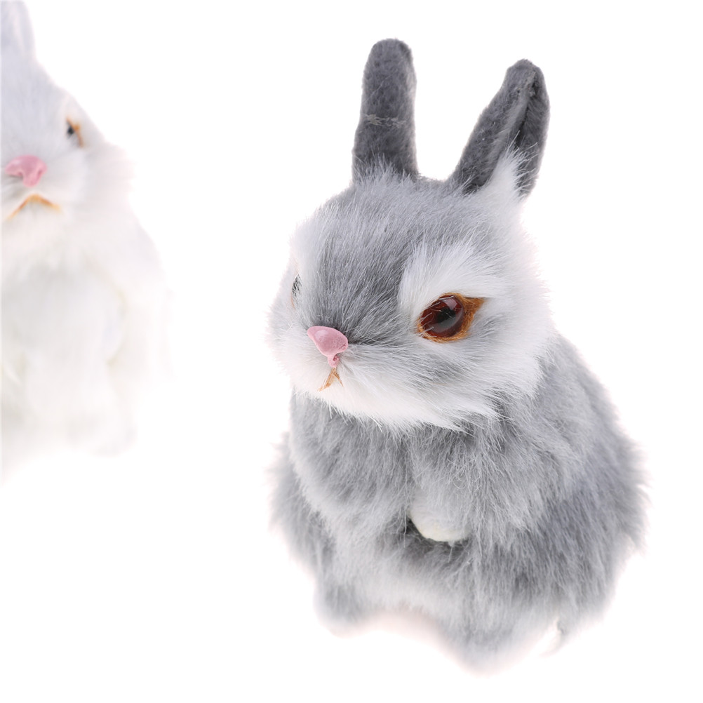 Toy Frame Plush-Toys Simulation Pocket Birthday-Gift Animal Small Rabbit Mini Kids Cute