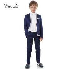 Page Boy Wedding Groom's Flower Boys Tuxedos 2 Pcs Formal Kid Evening Party Suit джемпер italian rugby style page 2 href page 6 page 9