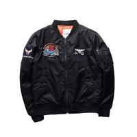 Hot Sale Men S Tide Brand Retro Embroidered Jacket Men Fashion Baseball Clothing Air Force Pilot