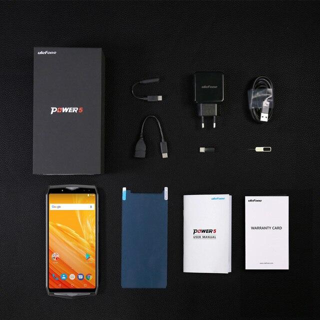 Ulefone Power 5 13000mAh 4G Smartphone 6.0 5