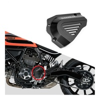 Icon Full Throttle Classic Urban Enduro Front Sprocket Chain Cover Guard fit for Ducati Scrambler 800 2015