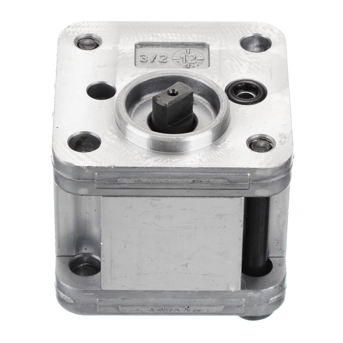 1Pcs Hydraulic Gear Pump Metal Mini Gear Pump Hydraulic Model Excavating Machinery For Home Tools High Quality