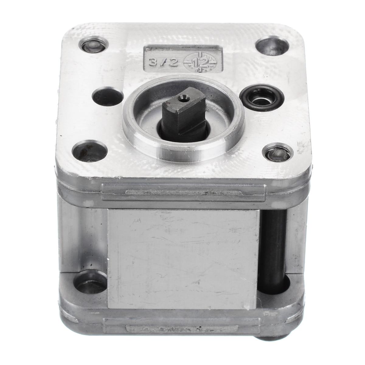 1Pcs Hydraulic Gear Pump Metal Mini Gear Pump Hydraulic Model Excavating Machinery For Home Tools High Quality