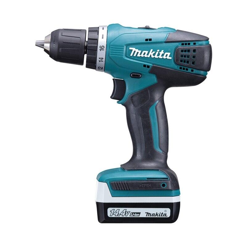 Cordless drill battery Makita DF347DWE hq 12v cordless die grinder 6 speed cordless mini grinder 5000 32000rpm 2pcs 12v battery 3 0mm chuck
