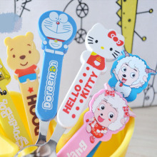 Super Cute Cartoon Spoon Stainless Steel Tableware Ice Cream Dessert Spoon Stirring Coffee Spoon Creative Tableware