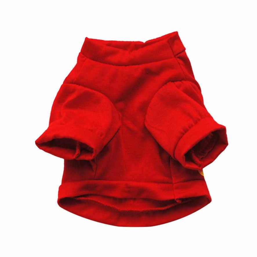 Новая Милая футболка с животными, 1 шт., хлопковая летняя рубашка, одежда для маленьких собак, кошек, домашних животных, майка, футболка, одежда для маленьких собак, жилет для домашних животных 25