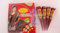 4pcs/lot Henna Temporary tatoo india tattoo tube for body Paste Cone Body Art painting products