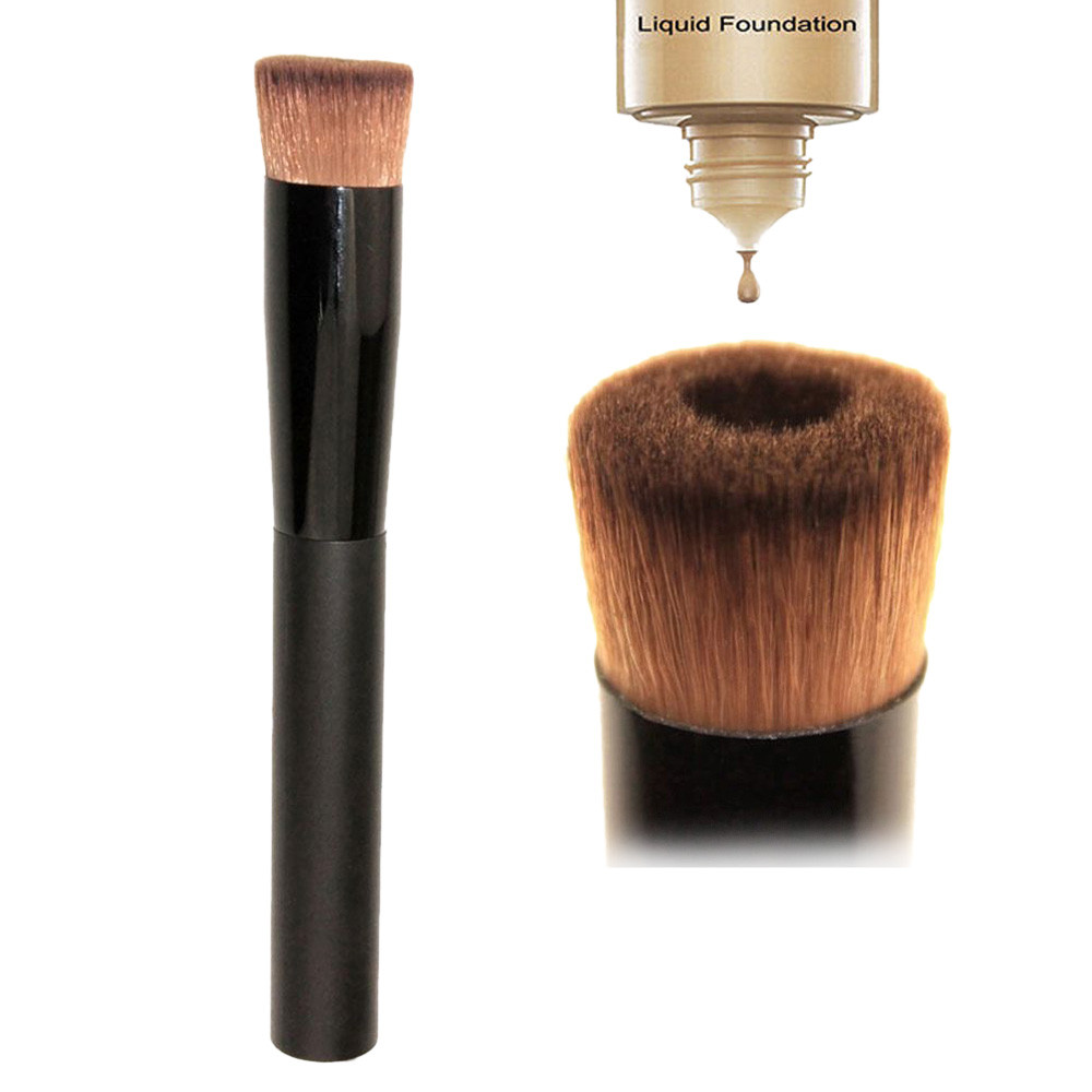 2017 New 1 pcs Pro Multipurpose Face Liquid Foundation Make up Brush  Cosmetic Tools Concealer Blending Toiletry cosmetics