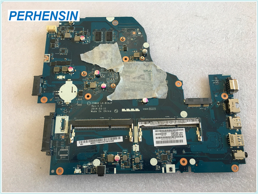 For ACER For ASPIRE E5-571 E1-572 Laptop Motherboard NB.MLC11.004 NBMLC11004 i5-4210U 840M Z5WAH LA-B162P 100% WORK PERFECTLY nbml811002 z5wah la b161p for acer aspire e5 571p e5 571 mainboard laptop motherboard i3 4030u ddr3l hd graphics