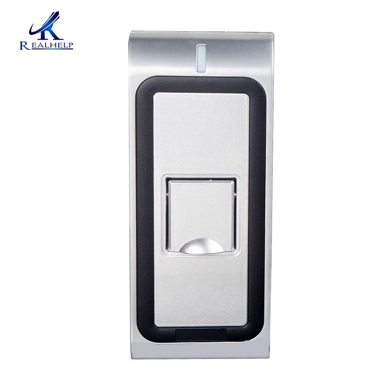 Biometrische Zugangskontrolle per Fingerabdruck mit schneller und zuverlässiger Leistung Wasserdichtes Metallgehäuse mit WG-Ausgang
