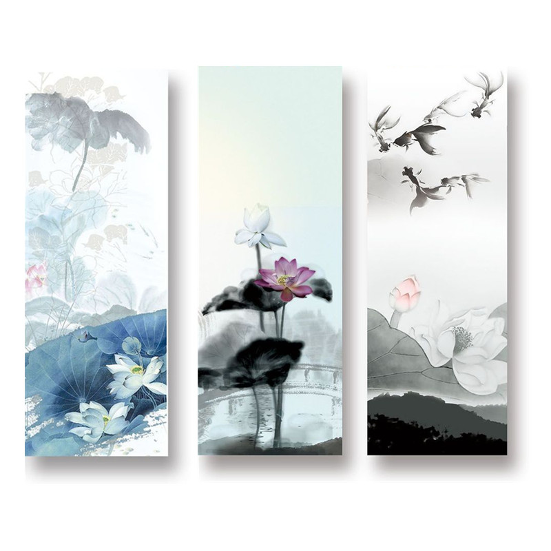 Inkwash Painting Yoga Mat Towel Microfiber Non Slip Absorbent Bacteria-proof Hot Yoga Towel For Gymnastics Dance Pilates Tool