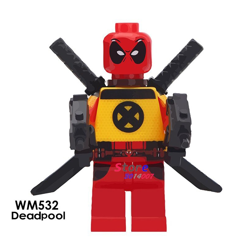 Hard-Working Single Super Hero Infinity War Avengers Deadpool 2 Hulkpool Woderwoman War Ares Action Figures Building Block Toys For Children Providing Amenities For The People; Making Life Easier For The Population Toys & Hobbies Model Building