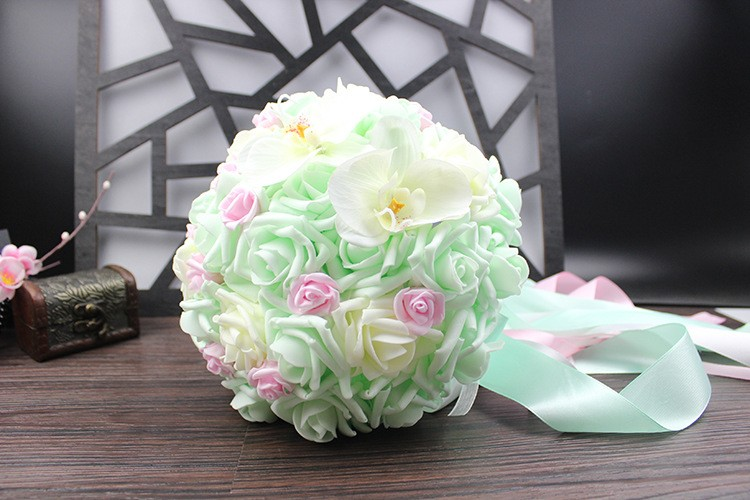 Wedding Bouquet de mariage Bridal Bouquet Wedding Bouquet Bridesmaid Artificial flower Boeket buques de noivas Bruidsboeket (12)