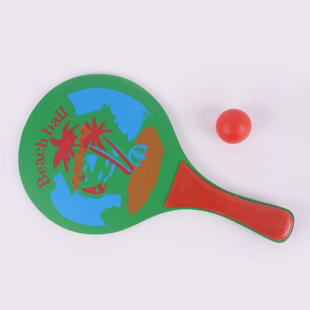 Green Beach Racket Parent Child Cricket Racket High Density
