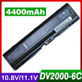 4400mAh battery for HP 441425-001 441462-251 441611-001 for Pavilion dv6000 dv6100 dv6200 dv6300 dv6500 dv6600 dv6700 dx6600
