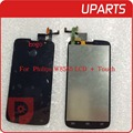 10pcs/lot Brand New For Philips Xenium W8555 LCD Display + Touch Screen Assembly LCD Digitizer Glass Panel Replacement
