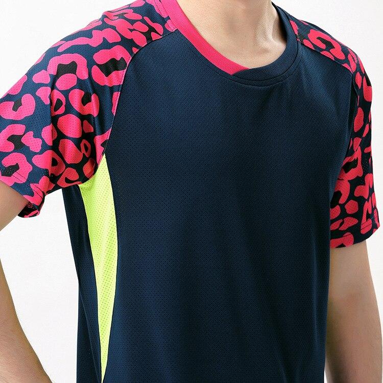 badminton shirt,table tennis breathable Absorb sweat badminton suits men women tennis Clothes ping-pong t-shirts + Shorts M-4XL