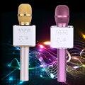 Q9 Беспроводной Bluetooth Длительное использование времени Игрок Караоке Микрофон Динамик КТВ Эффект USB Плеер w/Оригинальной Коробке L3FE