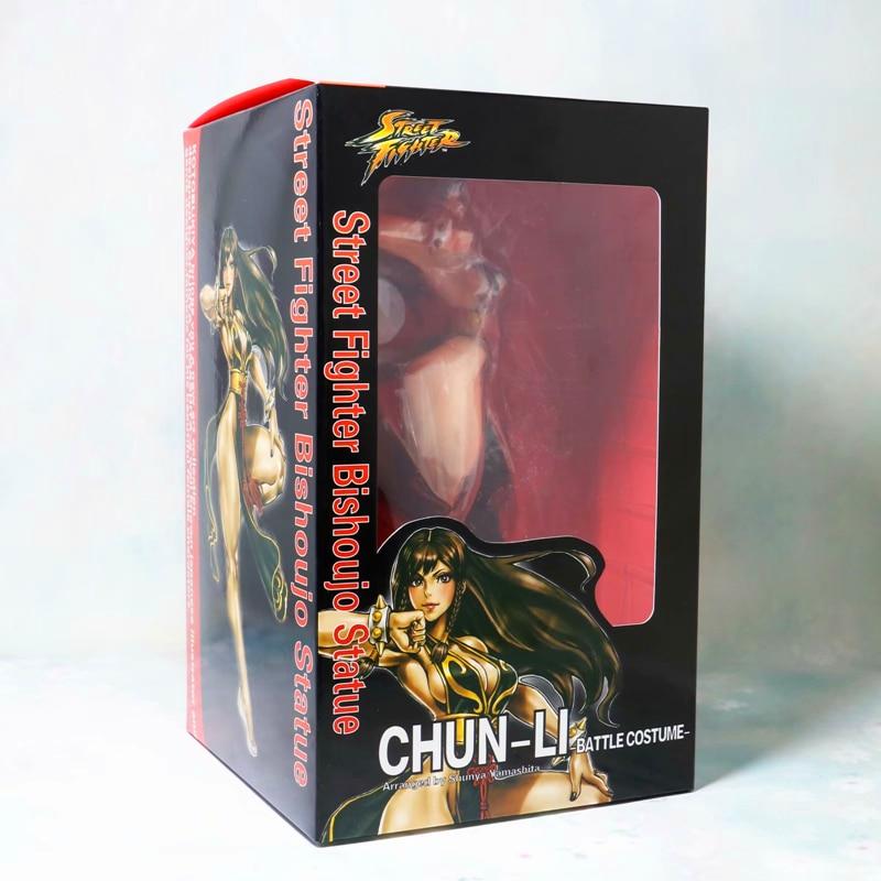 Anime Street Fighter Chun Li Bishoujo 1//7 PVC Figure New No Box 23cm