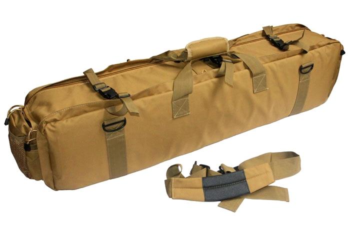 Wolf Slaves Airsoft Combat Carrying Case Tactical M249 Gun Bag