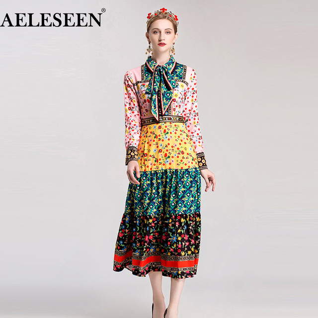 High Quality Women Dresses 2018 Early Spring Fashion ...