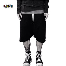 0720f63e6e9d Highstreet Summer Mens Drop Crotch Shorts Baggy Loose Drawstring Hip Hop  Black Urban Clothes Joggers Harem