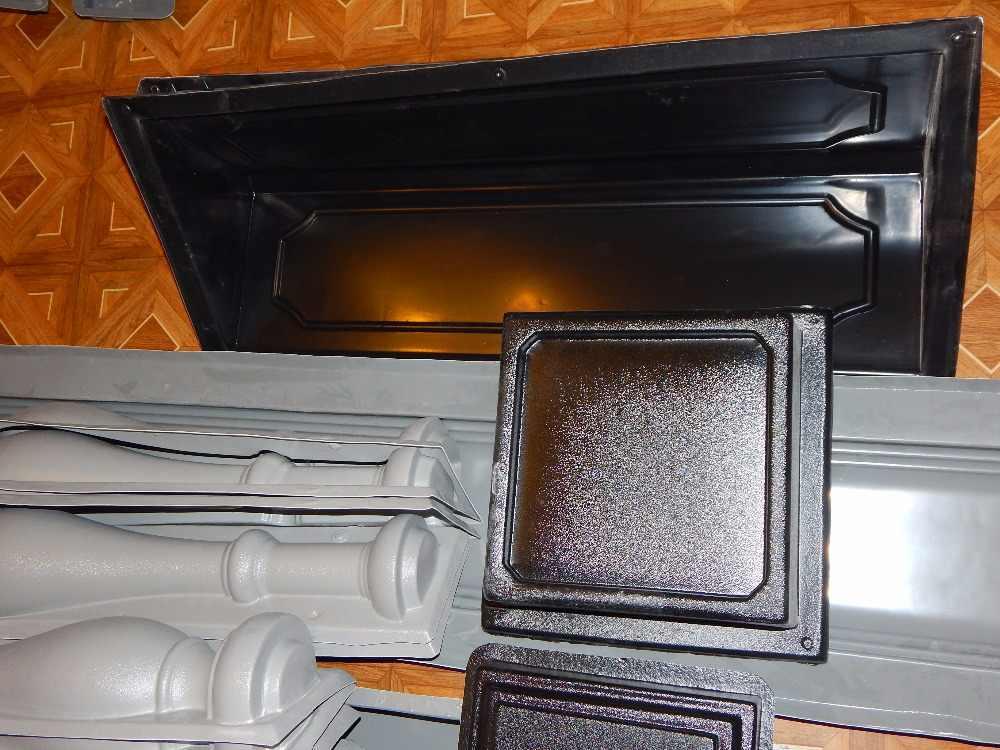 פלסטיק תבניות עבור בטון פלסטיק סט של מעקה טיח אבן אריחי קשה ABS פלסטיק דקור קיר בית מקורה וחיצוני
