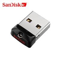 SanDisk-mini USB Pen drive CZ33, 8GB, 16GB, 64GB, USB 2,0, unidad flash USB 32GB, compatible con verificación oficial