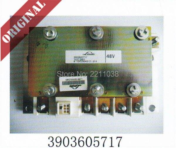 Módulo de saída 3903605717 caminhão elétrico empilhadeira Linde parte 324 335 original novo serviço de peças sobressalentes