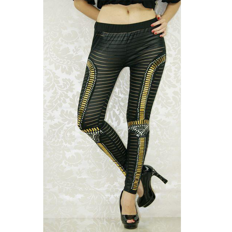 Women Low Waist Leggings Pants Fashion Style Sequins Sexy Slim Hollow Out Leggings Gothic Creative Fitness Popular Pants WL7970