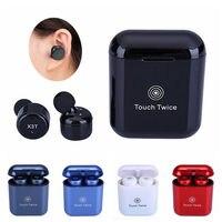 X3T Mini Invisible Twins True Wireless Bluetooth Headset CSR 4 2 HIFI Stereo Cordless Bluetooth Earphones