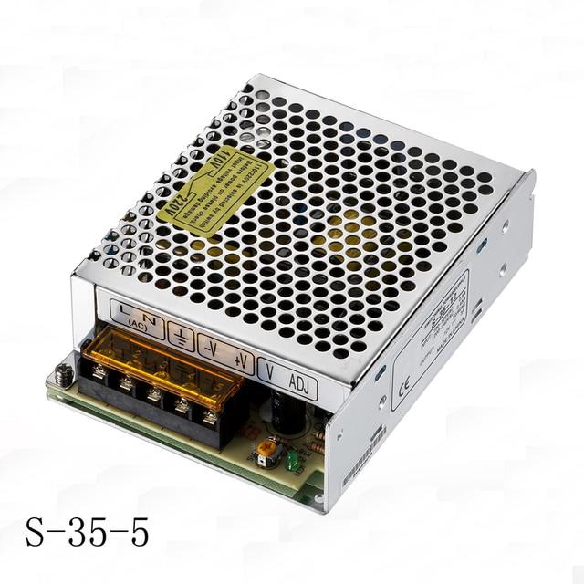 5v 7a 35w led drivers cctv camera power supply 110vac 220vac to