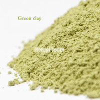 1kg Mineral Green Tea Mud Whitening Moisturizing to Dark Yellow Detox 1000g Skin Care