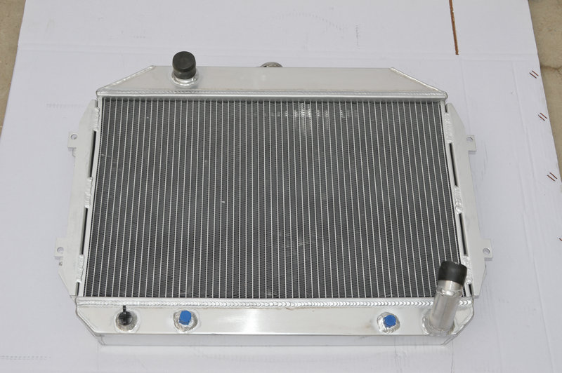3 ROW for Nissan//Datsun 240Z//260Z 1970-1975 71 72 73 74 Aluminum Radiator AT MT