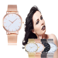 Luxury Gold Sliver Women Watch Alloy Band Casual Clock Round Dial Office Ladies Wristwatch Men Quartz Watches Relogio Feminino