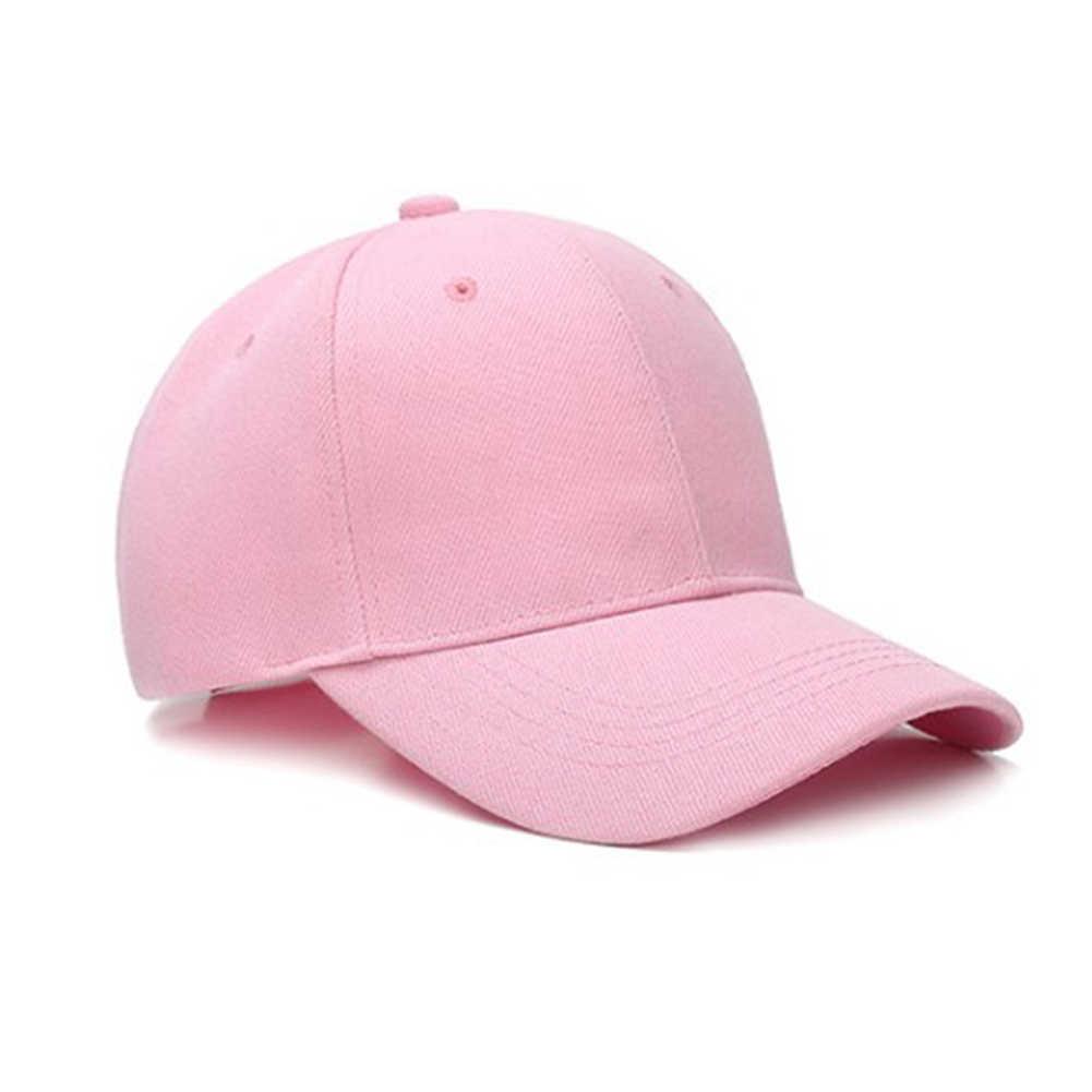 Delle Donne degli uomini di Pianura Curvo Visiera di Sun del Berretto Da Baseball Del Cappello di Colore Solido Protezioni Registrabili di Modo di Estate Traspirante Hip Hop Berretti Unisex cappelli