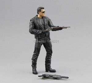"""Image 3 - (Geen Doos) gratis Verzending Neca The Terminator 2 Action Figure T800 Cyberdyne Showdown Pvc Figuur Toy 7 """"18Cm MVFG132"""