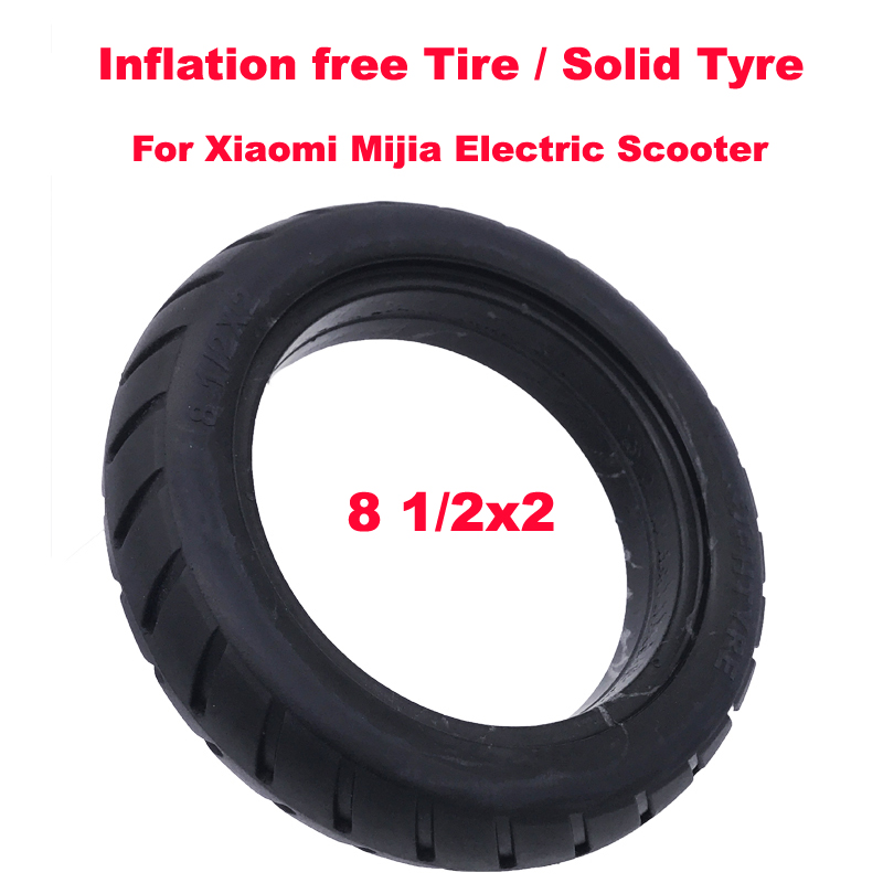 Xiaomi Scooter Tire Inflation Free Tubeless Tyre 8*1/2x2 Solid Tyre 8.5 Inch Tubeless Tyre for Xiaomi Mijia M365 ScooterXiaomi Scooter Tire Inflation Free Tubeless Tyre 8*1/2x2 Solid Tyre 8.5 Inch Tubeless Tyre for Xiaomi Mijia M365 Scooter