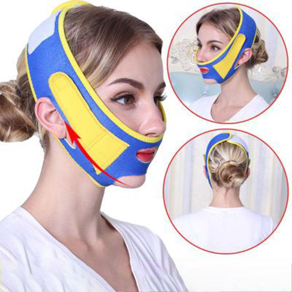 Face Slimming Thin Mask Bandage Face Lift Up Belt Sleeping Face-Lift Mask Massage Slimming Face Shaper Double Chin Bandage